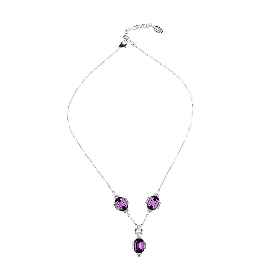 """Sweet twenties"" necklace amethyst"
