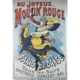 Au joyeux Moulin Rouge poster by Choubrac
