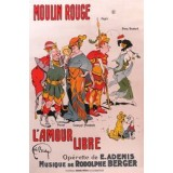 "Moulin Rouge ""L'Amour Libre"" poster"