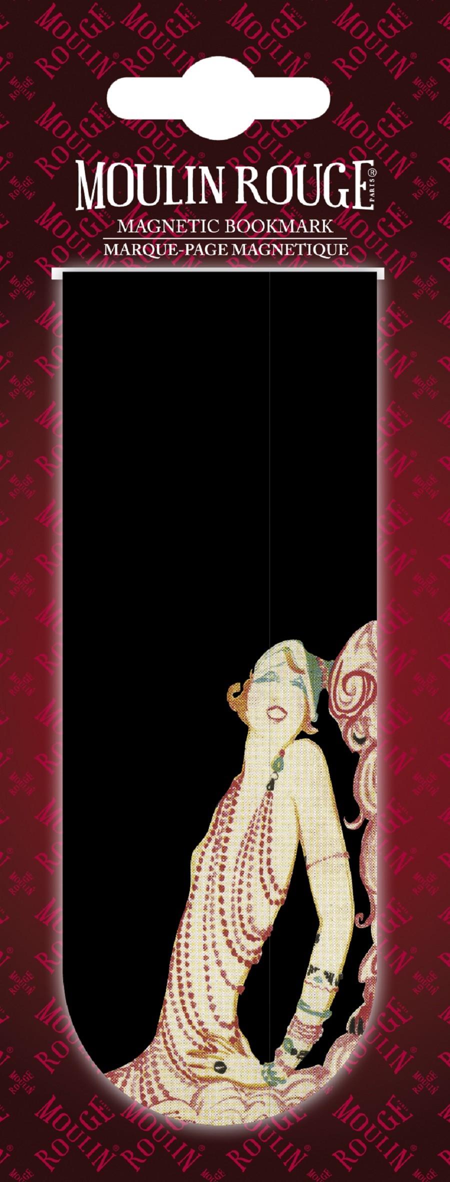 Marque-pages Mistinguett plumes et bijoux