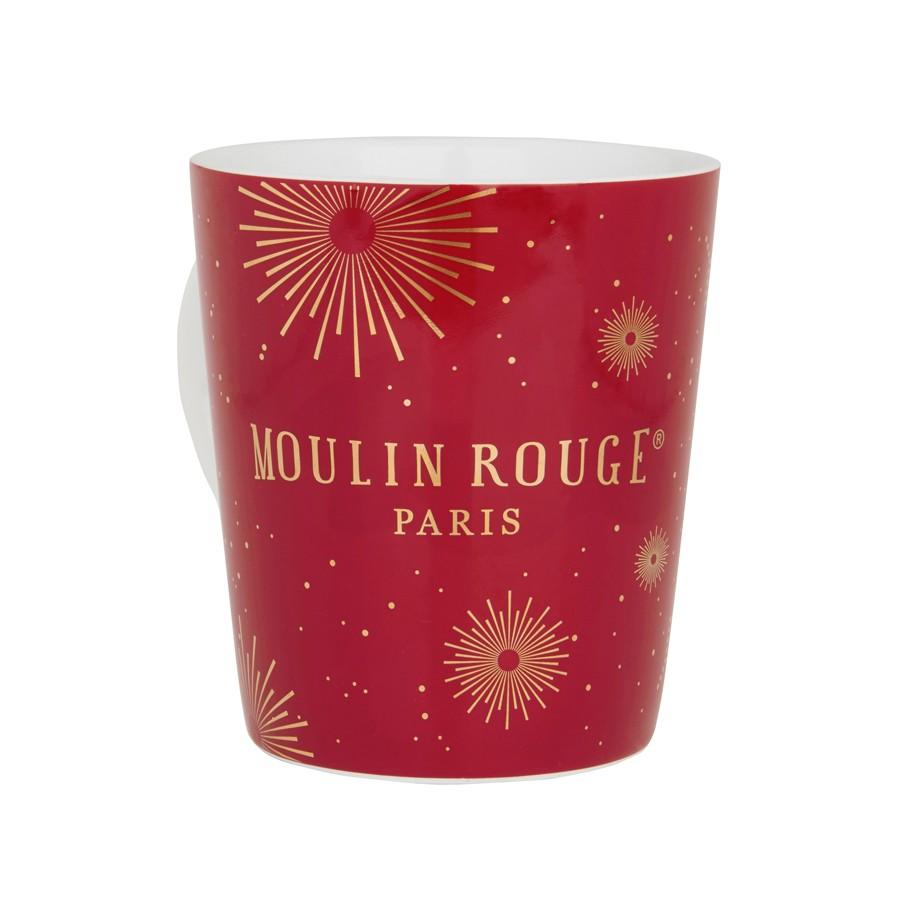 """Mug porcelaine et or """"Feux de Joie"""""""