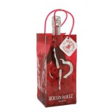 Ice bag cancaneuse rouge paillette