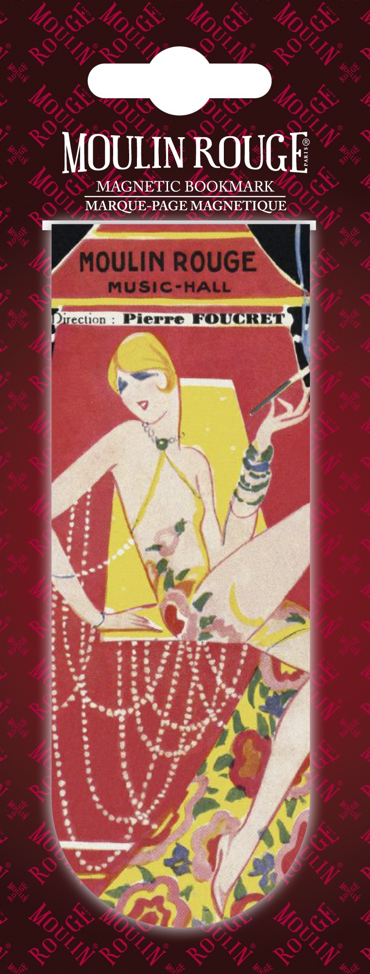 "Mistinguett ""cigare"" bookmark"
