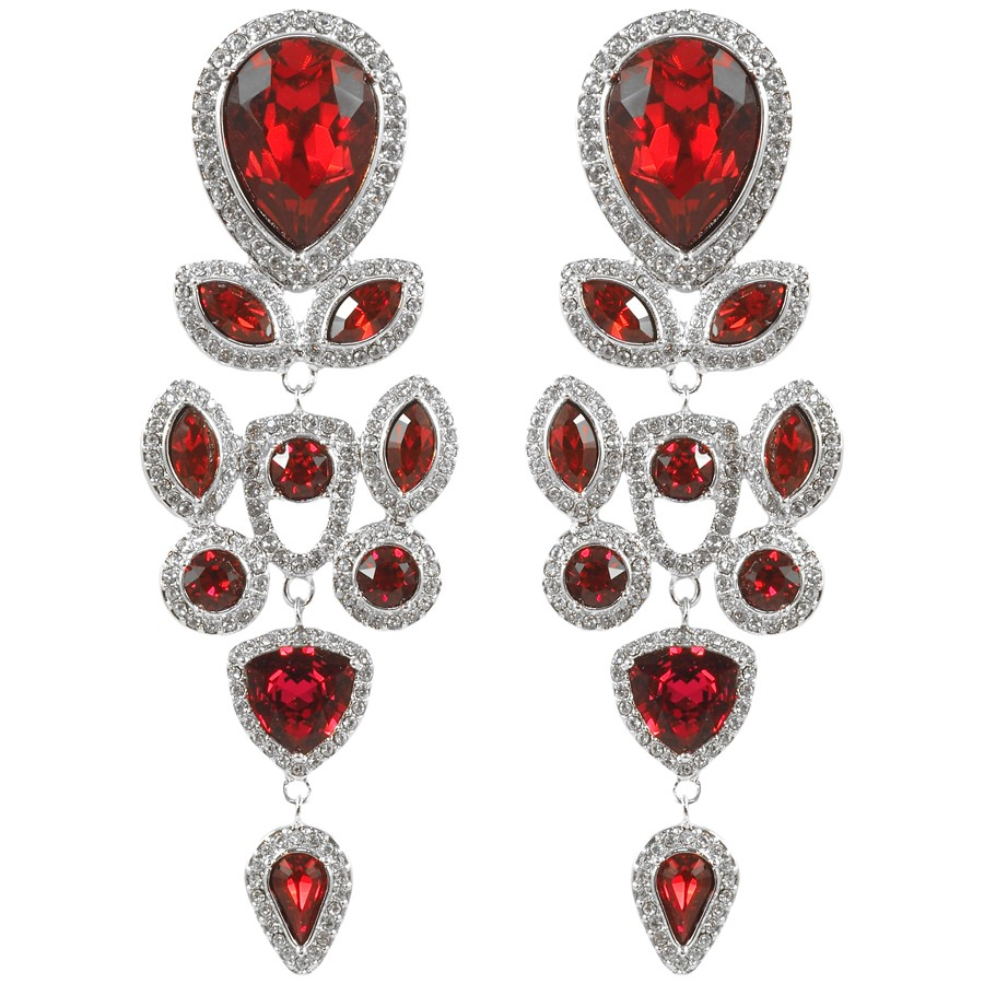 Rouge Crush long earring