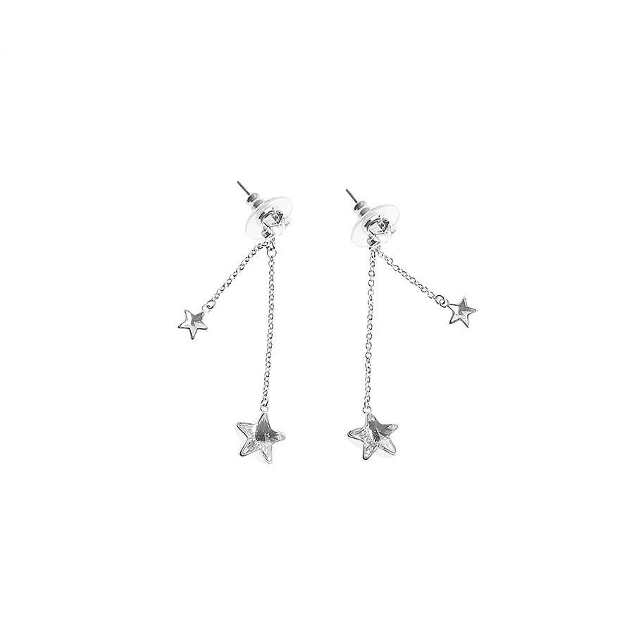 Scintillante dangling earrings