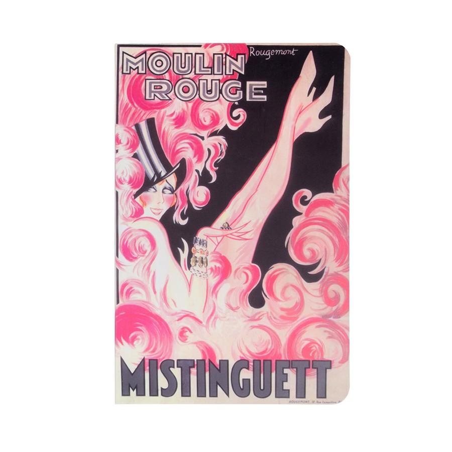 Mistinguett 11x17 notebook