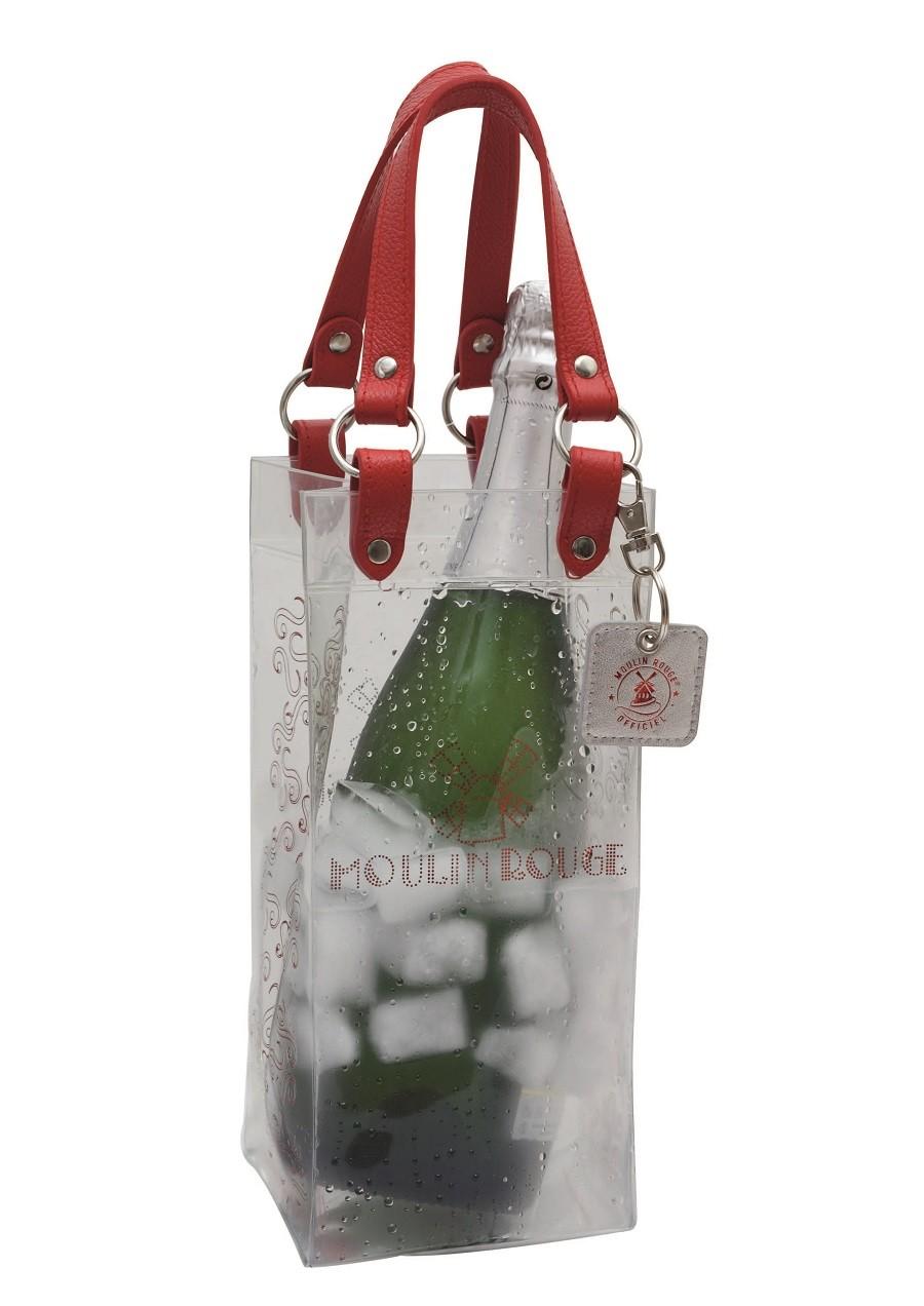 Ice bag leather