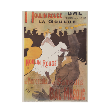 moulin rouge Affiche la Goulue