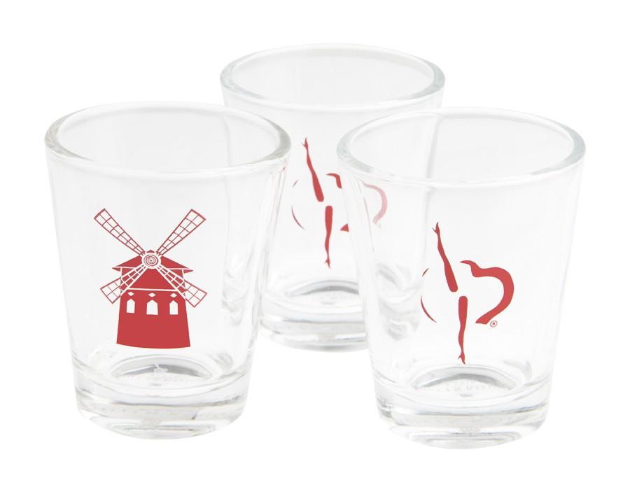 Moulin Rouge shot glasses set
