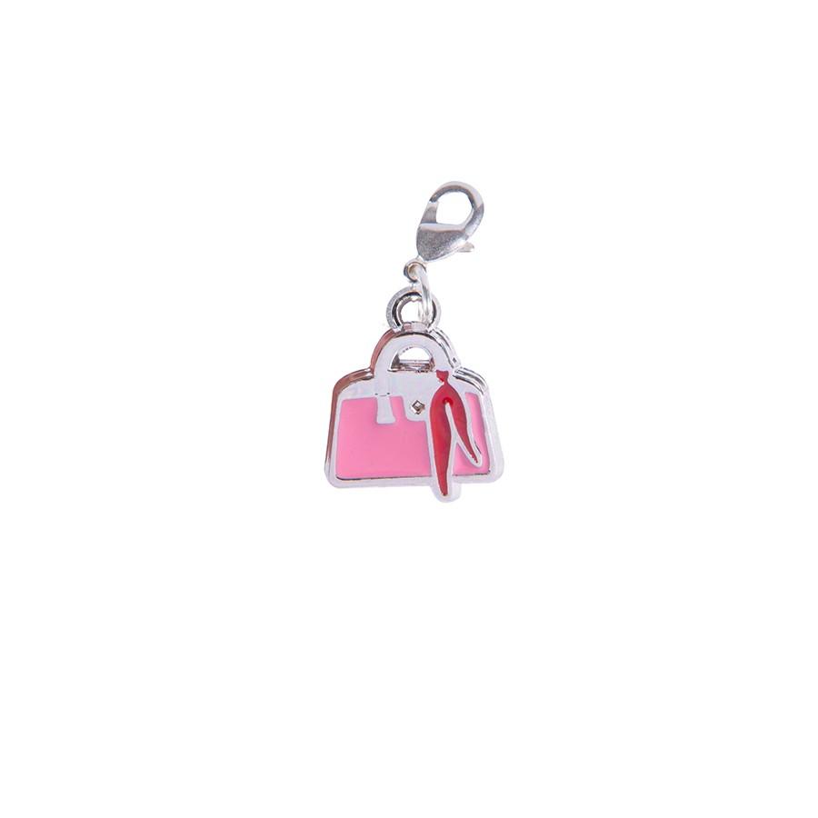 Pink bag charms