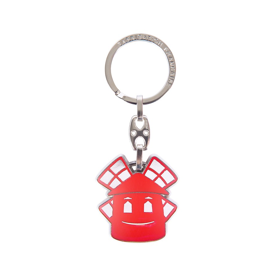 Smile key ring