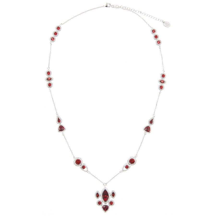 """Rouge Crush"" Long Necklace"