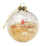 Tinsel Golden Christmas Ball